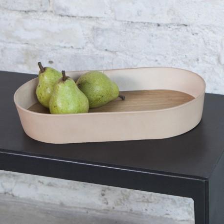Wood & leather - large