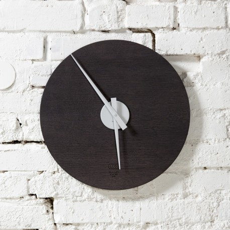 KOLO clock - stained oak