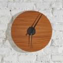 KOLO clock - lemonwood