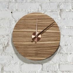 KOLO clock - zebrano