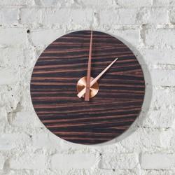 KOLO clock - macassar ebony